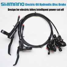 Best sell High quality oil hydraulic disc brakes for electric bike Intelligent power cut off brake professional ebike