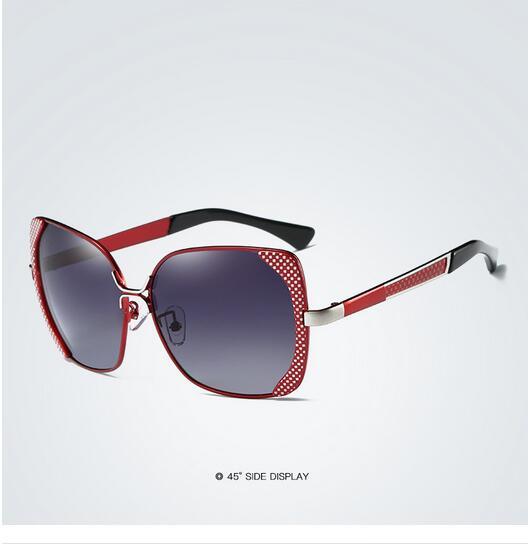 Female polarized elegant butterfly brand designer lady polarized sunglasses female Oculos De Sol KINGSEVEN shadow s'40 13