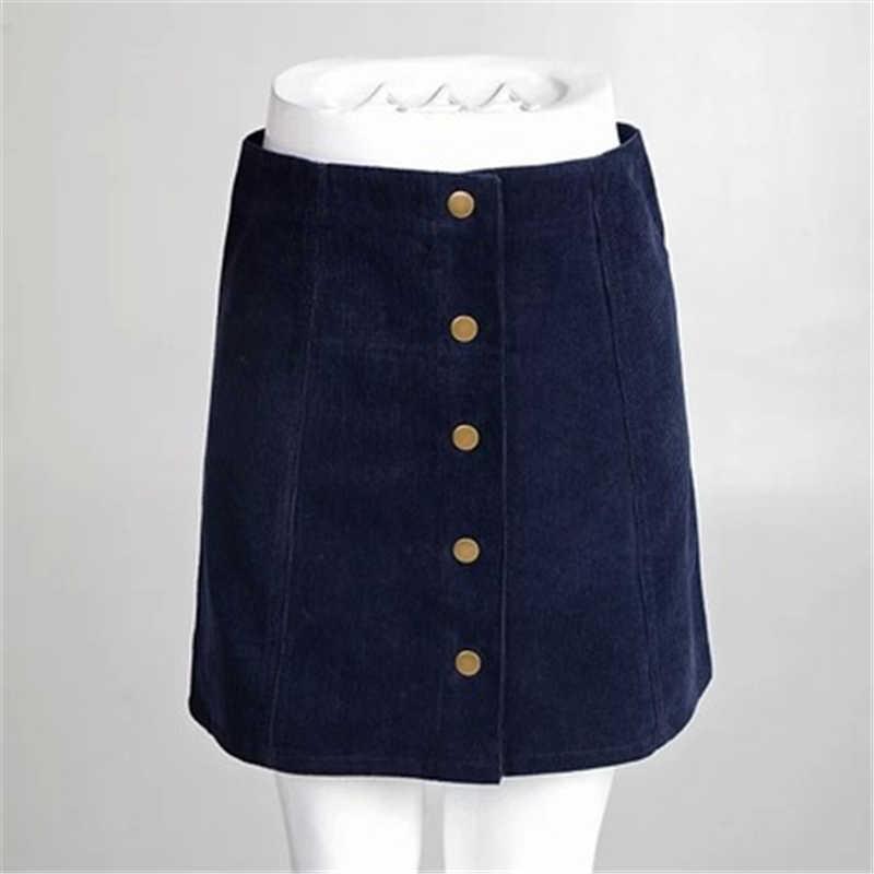 الصيف الجبهة الصدر سروال قصير تنورة عارضة كبيرة الحجم المرأة ألف خط تنورة عالية الخصر حقيبة الورك تنورة حجم كبير الإناث تنورة J873
