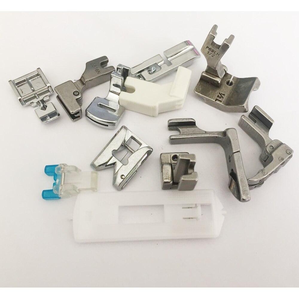 Prensatelas kits para la mayoría de máquinas de coser