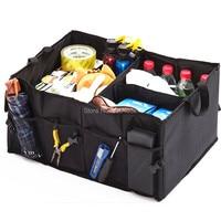Car Trunk Bag Organizer Folding box FOR Mercedes Benz W211 W203 W204 W210 W124 AMG W202 CLA W212 W220 W205 W201 A Class GLA W176