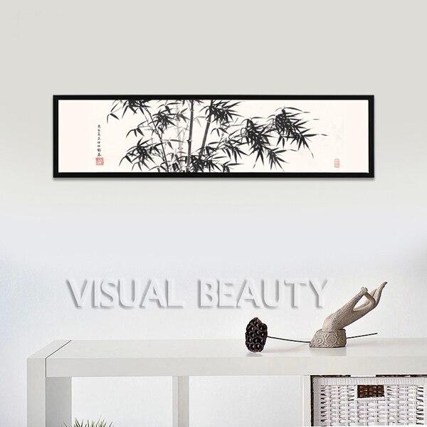 604c6b7ba611e Nouveau Produit Chambre Décoration Encadrée Peinture Sur Toile (Sans Cadre)  40x150 cm