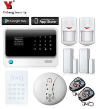 Yobang Security Wireless Alarm Systems Security Home Alarme Security Alarm WiFi Alarmas Casas With Anti-theft Motion Detector