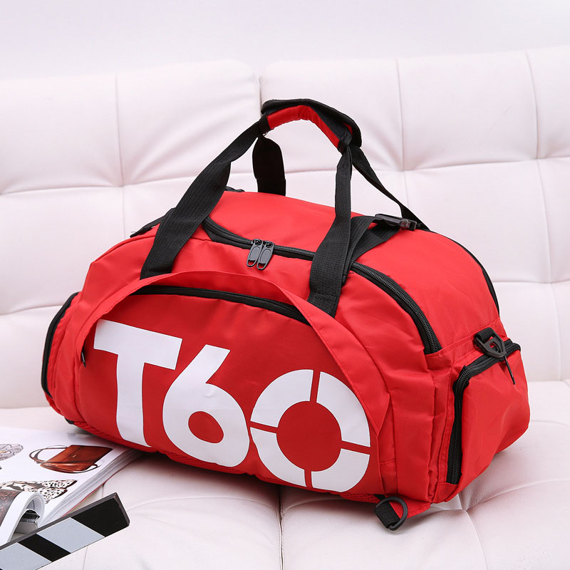 2019 New Men's Sports Fitness Bag Ladies Fitness Travel Handbag Outdoor Independent Space Change Shoe Bag Sports Backpack