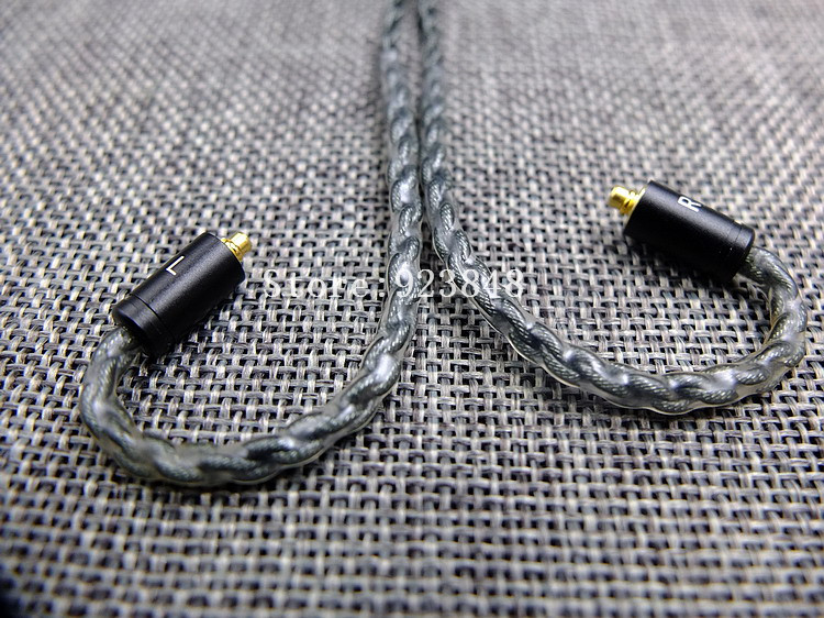 diy upgrade cable for ue900 se535 se215 8share silver pated wire