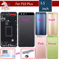 For Huawei P10 Plus VKY-L09 VKY-L29 VKY-AL00 Battery Cover Back Housing Rear Door Case full Battery Panel Replacement with logo