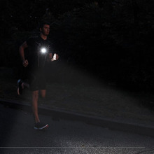 Outdoor Sport Running Lights Q5 LED Night Running Flashlight Warning Lights USB Charge Chest Lamp White Light Torch