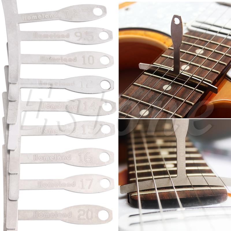 Understring Radius Gauges-set of 9 stainless steel luthier tools