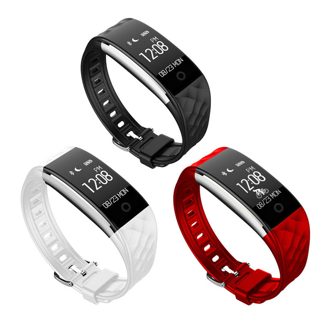 S2 Bluetooth 4.0 Smart Watch Fitness Heartrate Monitor Wristband for IOS Android