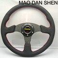 Free shipping 2015 hot-selling racing wheel / steering wheel / 14-inch MOMO steering wheel and good quality