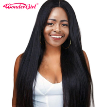 360 Lace Frontal Wig Pre Plucked With Baby Hair Malaysian Straight Wig Lace Front Human Hair Wigs Non Remy Hair Wonder Girl Wig
