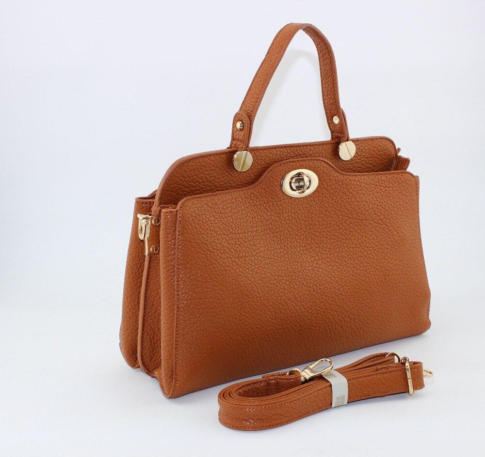 2017 New Collection Double Lock Pockets Las Bag Magazine Tote Handbag Bolsas Femininas Carteras In Top Handle Bags From Luggage On