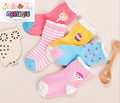 Fall Winter cute girl cartoon in tube socks cotton fashion suitable for 1-12 children