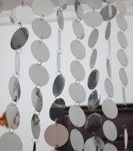 Lentejuelas PVC cortinas, festivo y fiesta, decoración del hogar de interior de Oro, lentejuelas de plata cortina