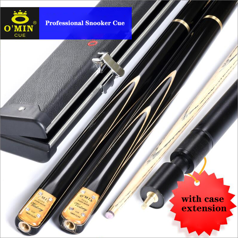 OMIN Snooker Cue 3/4 Piece Snooker Cue Kit with OMIN Case with Telescopic Extension 9.5mm/10mm/11.5mm Tip Snooker Stick ChinaOMIN Snooker Cue 3/4 Piece Snooker Cue Kit with OMIN Case with Telescopic Extension 9.5mm/10mm/11.5mm Tip Snooker Stick China