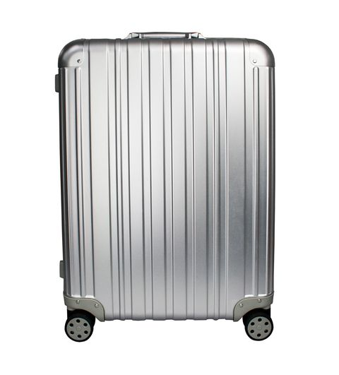 [Available from 10.11] Aluminum business class suitcase PROFFI TRAVEL PH8708, M, durable lightweight with TSA combination lock