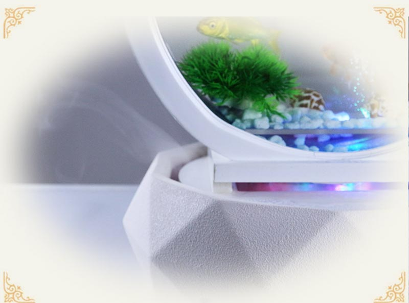 vidro tanque de peixes sala de estar