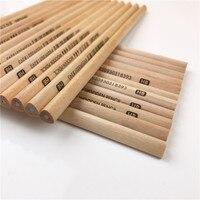 50 sztuk/pudło HB Standardowy Ołówek Zestaw Dla Dzieci nietoksyczne Kredki Do Surowego Drewna Szkoła Uczeń Piśmiennicze Marki Rysunek pisanie