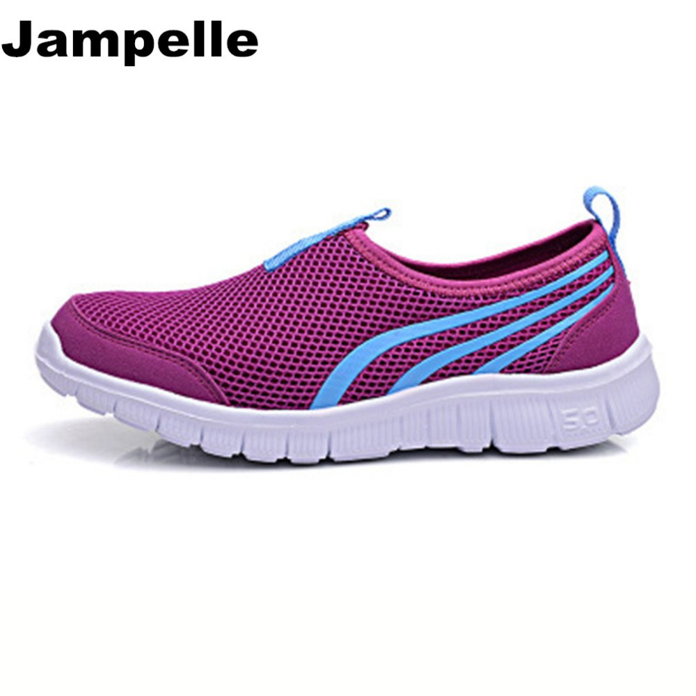 Jampelle 2017 New Cool Athletic Men Sneakers Summer Breathable Mesh Sport Shoes For Men Outdoor Super Light Running Shoes