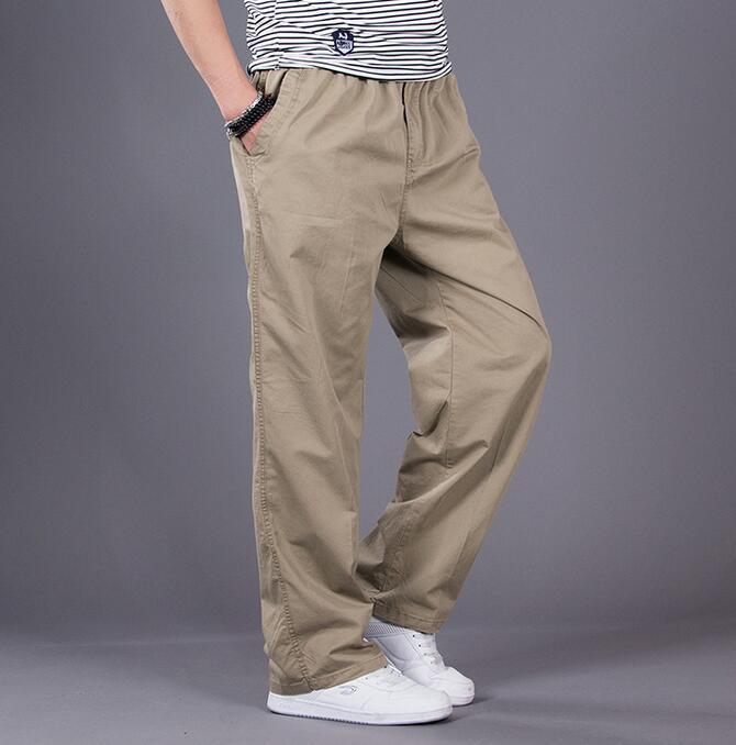 2017 New arrival Men s Cargo Pants Spring Male Hip Hop Loose Men Pants trousers Plus