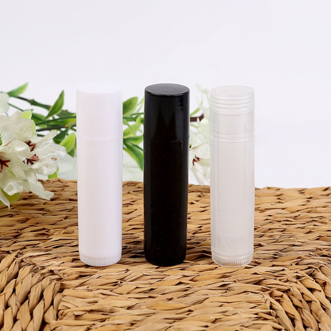 New arrival  50pcs/Lot Empty Plastic Clear LIP BALM Tubes Containers Lipstick Fashion Cool Lip Tubes Refillable Bottles 50pcs plastic ldpe squeezable dropper bottles eye liquid empty new 88 hjl2017