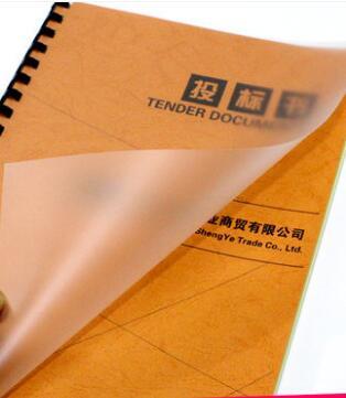 Size A4 Lightly Matte Translucent PVC Acetate Sheet Plastic Report Cover 3/10/30/50pcs You Choose Quantity