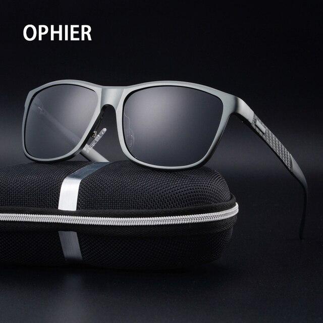 OPHIER Aluminum Magnesium Fashion Brand Designer Sunglasses Men Polarized Driving Sun Glasses Mens Sunglasses oculos de sol