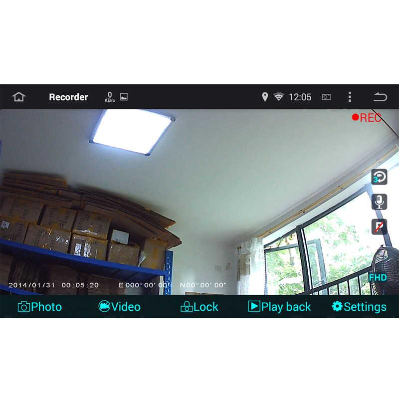 Full HD 1080 P USB avant DVR Dash caméra véhicule enregistreur de conduite pour voiture lecteur DVD Android 8.0/6.0 GPS unité de tête