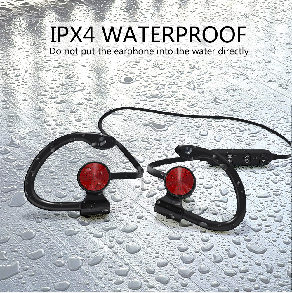 8 waterproof bluetooth earphone