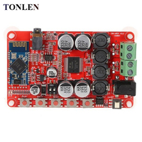 TONLEN TDA7492 2 0 Bluetooth Amplifier Board 50W Bluetooth CSR4 0 Audio Receiver Amplifier DIY Digital