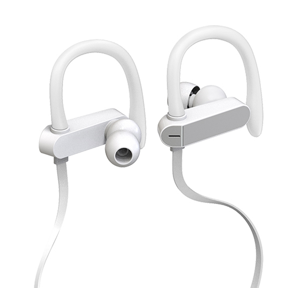 Earphone PTM TS27 Sukan Running Anti-Drop Headset Fon Telinga Hook Stereo dengan MIC Headphone untuk Telefon iPhone Xiaomi Universal