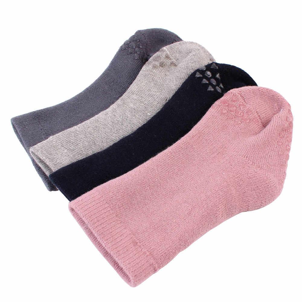 ถุงเท้าเด็กแรกเกิดถุงเท้าเด็กฝ้ายน่ารักซิลิกาเจลลื่นทารกผ้าฝ้ายถุงเท้าถุงเท้า USA คลังสินค้า Dropshipping