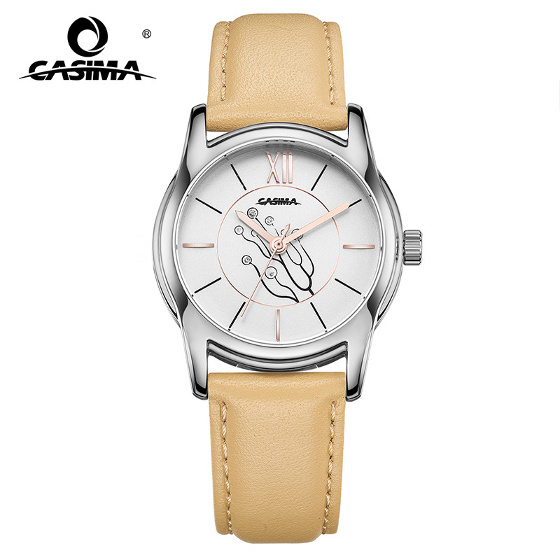 New Luxury Brand Watches Women Relojes Mujer Fashion Grace Womens Quartz Leather Waterproof Ladies Watch Montre Femme 2624 tezer ladies fashion quartz watch women leather casual dress watches rose gold crystal relojes mujer montre femme ab2004