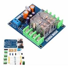 Top Deals 12-24V Dual Relay 7812+UPC1237 Speaker Protection Board Module DIY Kit for HIFI
