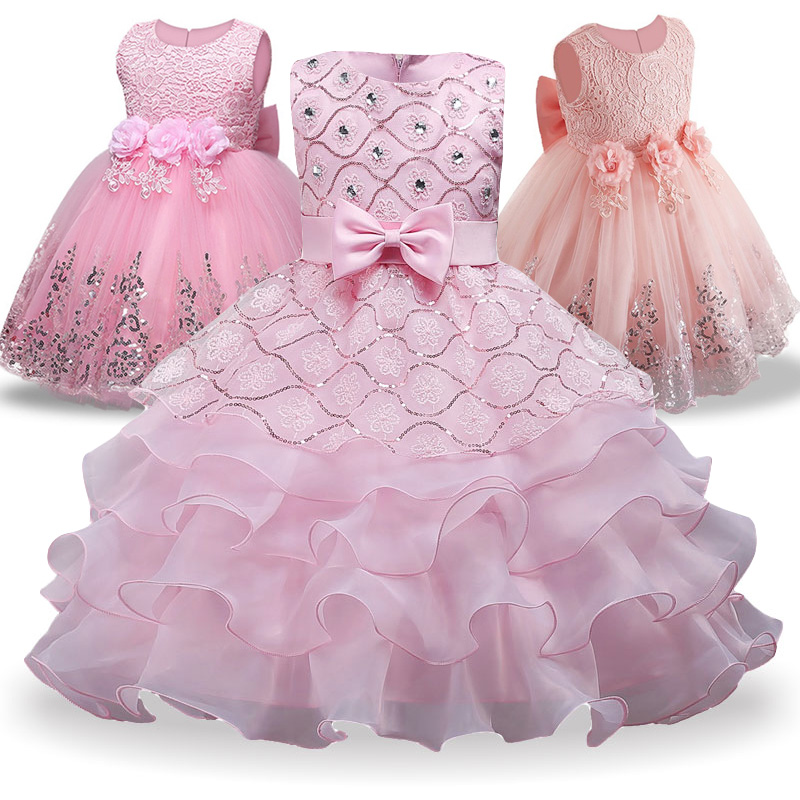 2018 Summer Girls Tutu Princess Dress For Girls Wedding Dress Kids Party Dresses For Girl Christmas Dress Costume Children Fancy girls christmas xmas dresses kids girls princess party carnival tutu dress baby girl red new year fancy party dress up outfits