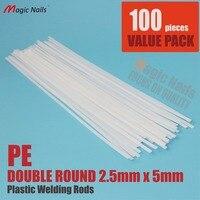 Automotive Plastic Repairs Kit PE Plastic Welding Rod For Hot Air Welding Gun Welder PE 100