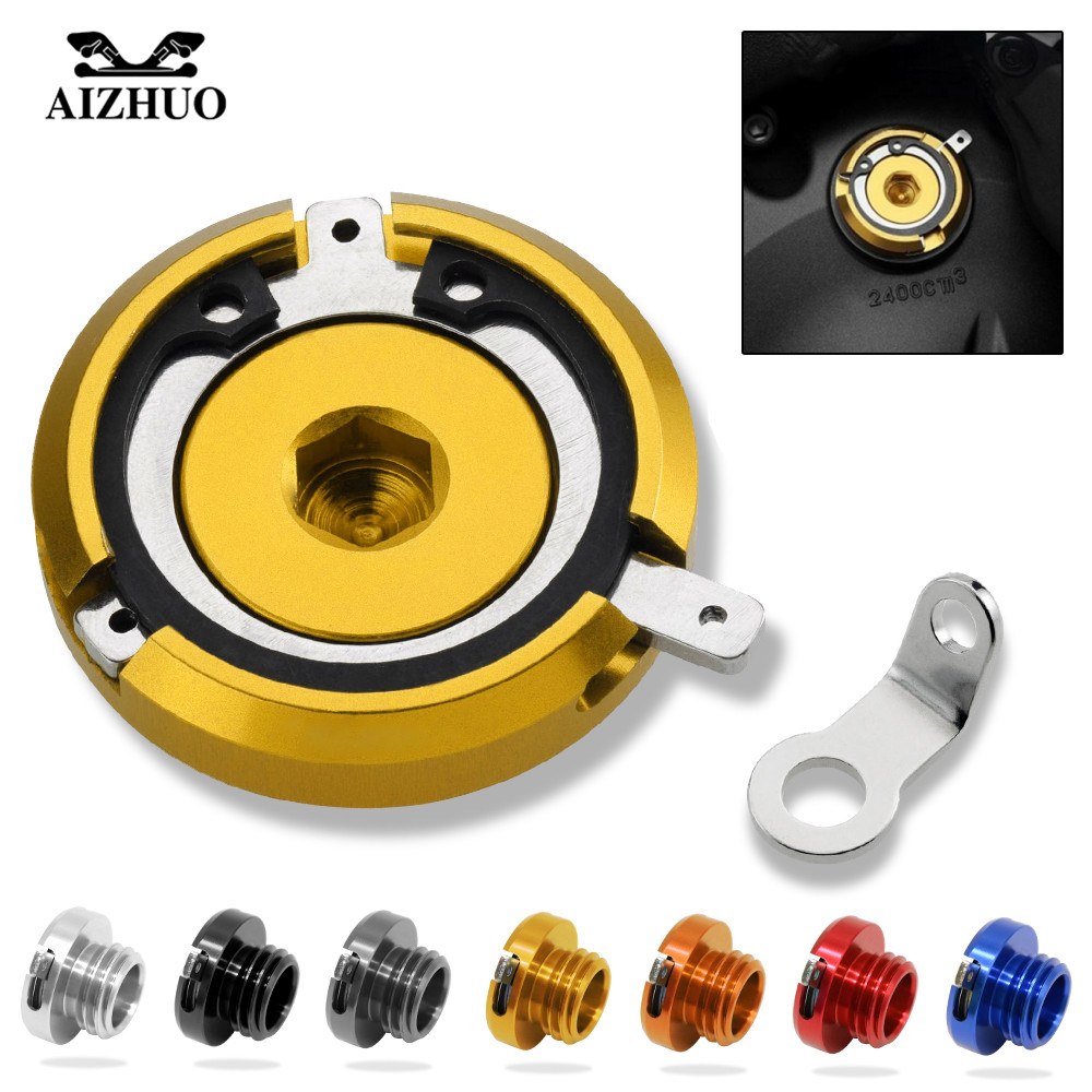 M20*2.5 Motorcycle CNC Engine Oil Filler Cup Cap Reservoir Cup For honda NC750 S NC750 X CB1100 kawasaki Z1000 Z1000SX 2010-2017 motorcycle cnc magnetic engine oil filler cap moto bike engine oil cap for kawasaki er6f er6n er 6n 6f versys 1000 zzr600 vn1600