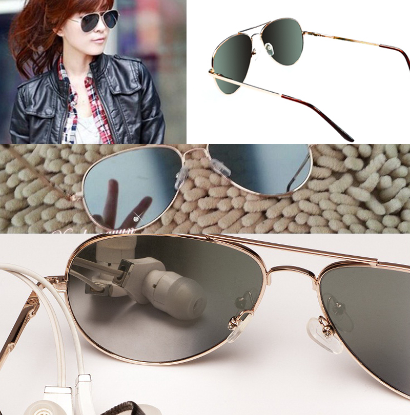 Personal Security Aviator Glasses Rearview Sunglasses Anti-track Monitor Sunglasses Ok For Fire Goggles Eye Protecting