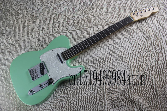 Free Shipping New Custom Shop Telecaster Closet Classic Sonic Blue Electric  Guitar @23