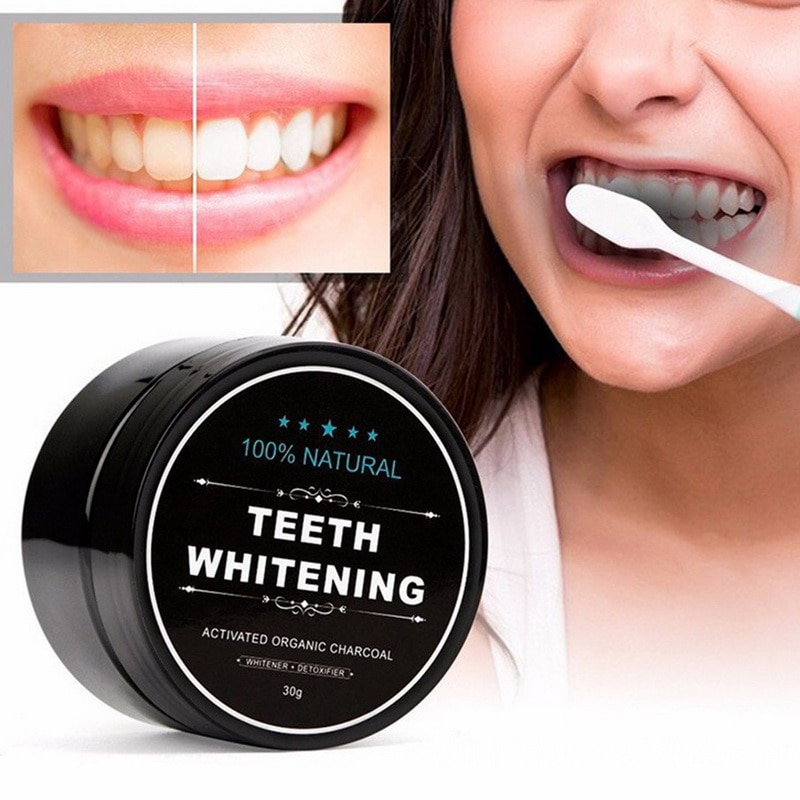 Teeth Whitening Qualified Hottest Tooth Whitening Powder Coconut Shell Activated Carbon Black Teeth Powder Natural Cleaning Packing Premium Toothpaste Beauty & Health