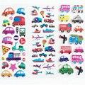 Crianças Carros de Transporte Da Bolha Dos Desenhos Animados Adesivos Diário Notebook Etiqueta Para Crianças Girls & Boys Brinquedos Clássicos Decoração Rótulo B585