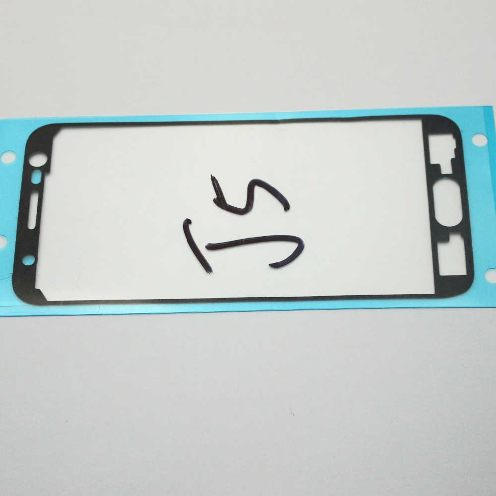 2PCS Precut Glue Tape LCD Touch Screen frame Sticker Apply For Samsung Galaxy J3 J1 J2 J5 J7 2015 J300 J100 J500 J700 J200