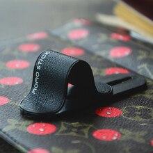 Универсальный палец кольцо держатель телефона кольцо кожаный мобильный зажим для телефона стенд многодиапазонный многофункциональный смарт-наклейка на заднюю панель для iphone