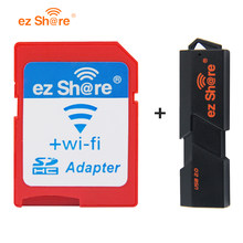 2018 Special Offer Direct Selling ez share Wifi Adapter Wifi Sd Card and card reader can use 8g 16g 32g without micro sd card(China)