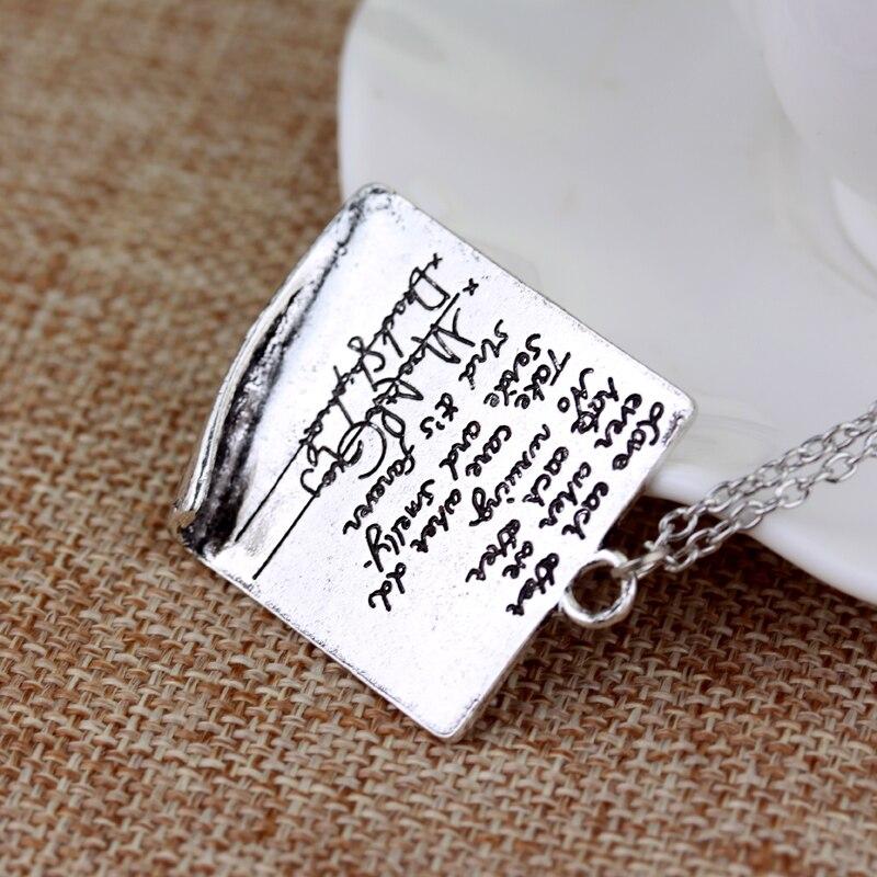 Cita de la anatomía gris letra collar inspirado Meredith y Derek ...