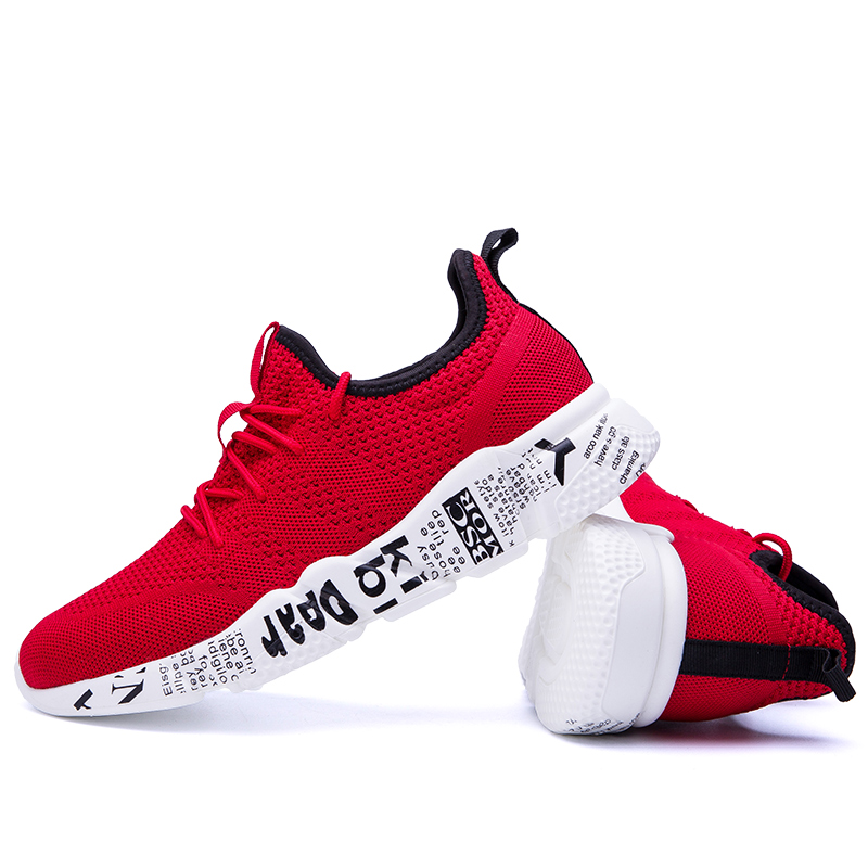 Popular Trend Blade Sneakers for Men Breathable Reflective Mesh Running Shoes Wearable Sports Man Sneakers Zapatillas shoe