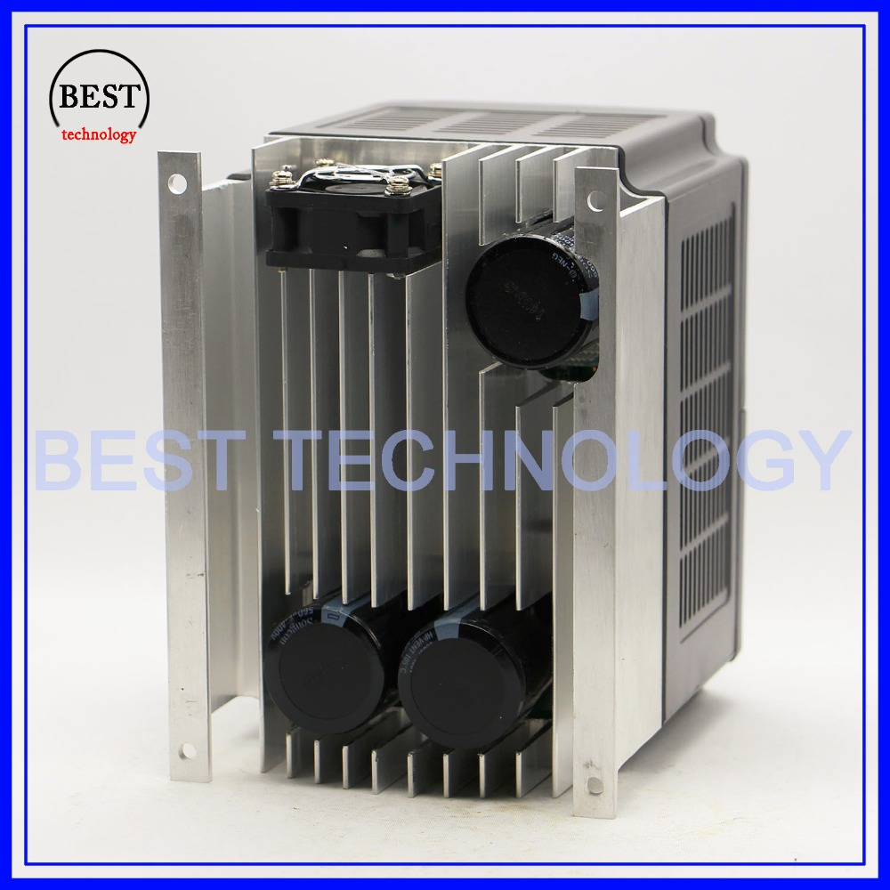 Image 5 - 220v 3.0kw  VFD Variable Frequency Drive  Inverter / VFD 1HP or 3HP Input 3HP Output CNC Driver CNC Spindle motor Speed controlinverter importerproduction stripinverter model -
