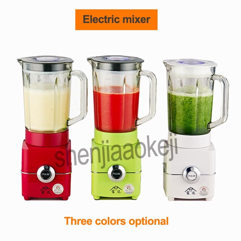 Electric Fruit vegetable Juicer for Juice/Ice/Meat /soy milk/grinding 1.5L mixer ice sand machine Food blender 220v 500w 1pc