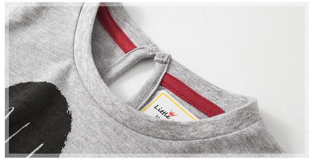 4a14688c16682 Little maven children brand baby girl clothes 2018 autumn new design girls  cotton tops heart print letter t shirt 51201 | www.monteiros.news