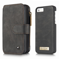 For Apple IPhone 5S Case Wallet Zipper Luxury Brand Logo Hard Back Cover IPhone 5S 5
